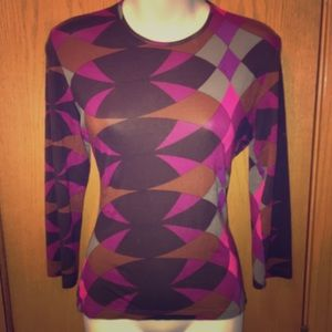 Emilio Pucci Classic Abstract Tee